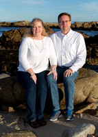 Asilomar Cove Family Portraits