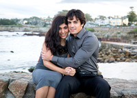 Samira & Balazs Engagement at Lover's Point, Pacific Grove