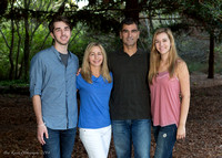 Manniello Family at Mission Trail, Carmel