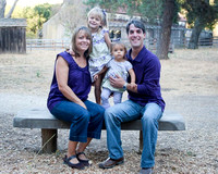Nerell Family at Garland Ranch, Carmel Valley