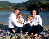 Bracket Family at Carmel River Beach