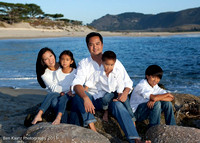 Laranang Family at Stewart's Cove, Carmel