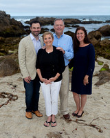 Stern Family at Asilomar Cove, Pacific Grove