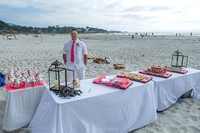 Cristy & Terrance's Carmel Beach Wedding