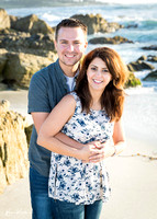 Amanda & Bryce Surprise Engagement at Seal Rock PB