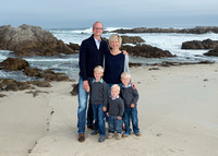 Baur Family at Asilomar Cove, Pacific Grove