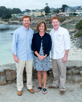 Bauersachs Family at Lover's Point, Pacific Grove